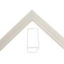 White Flat Frame